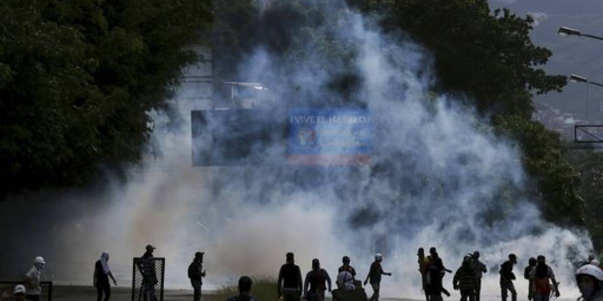 Explosión de motocicleta en medio de votación en Venezuela