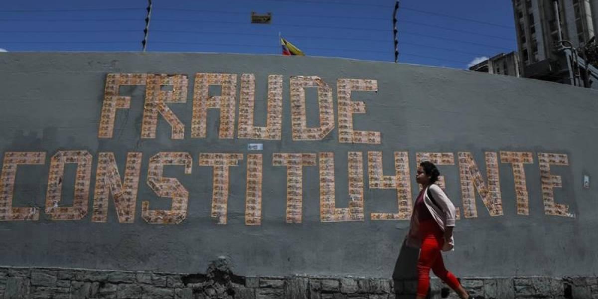 Oposición venezolana llama a una gran concentración contra la Constituyente