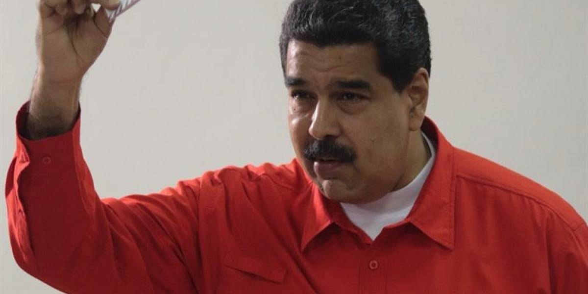 Voto de Nicolás Maduro da inicio a la Asamblea Constituyente en Venezuela