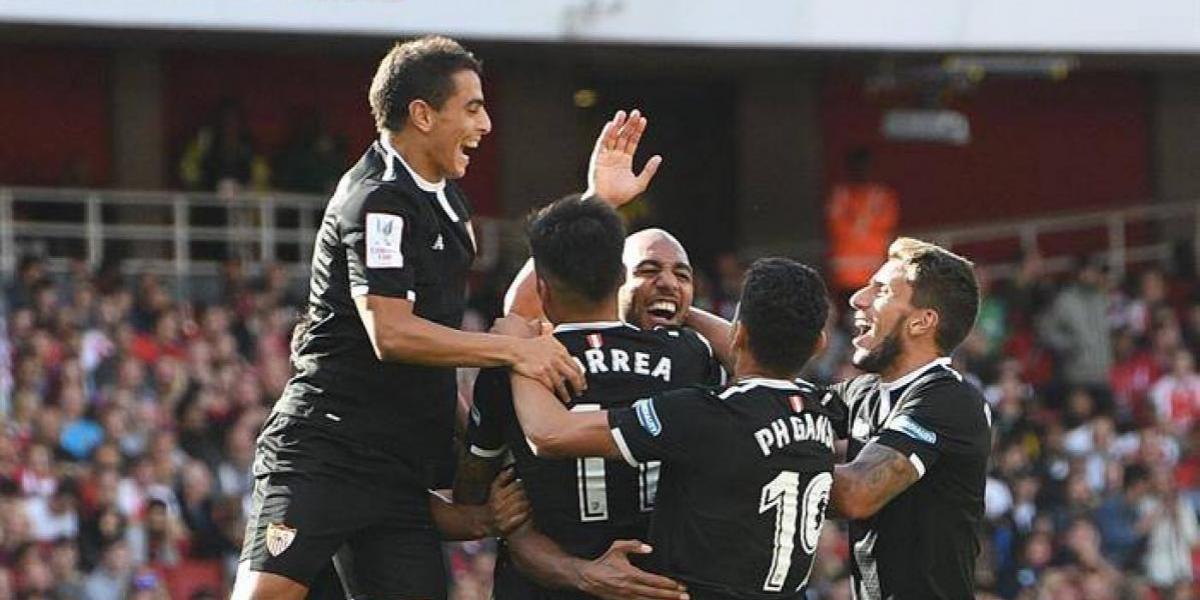 Sevilla sorprendió al Arsenal y lo derrotó por la Emirates Cup