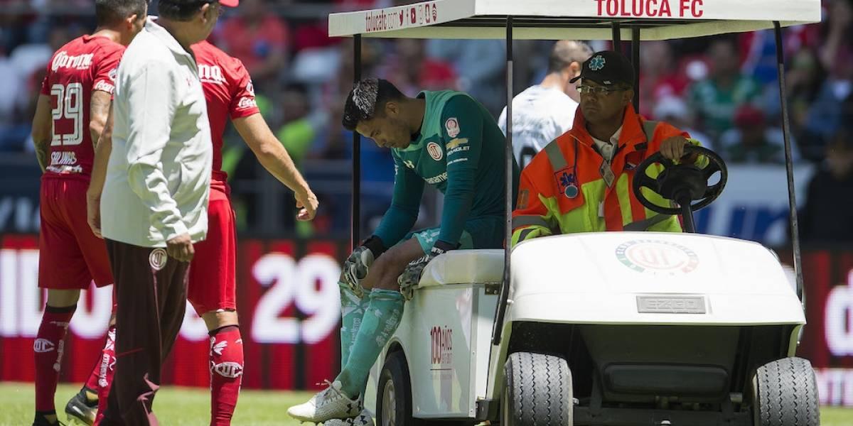 VIDEO: Alfredo Talavera sufre lesión en la rodilla