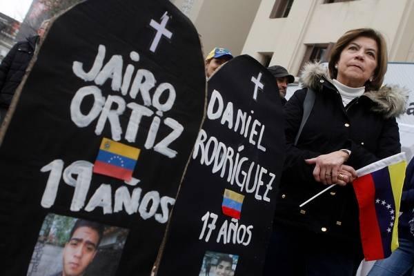 Venezolanos protestan contra Constituyente