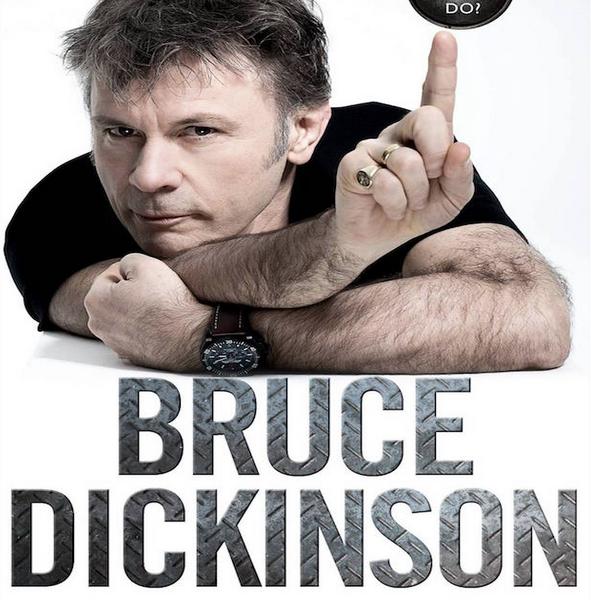 Bruce Dickinson, de Iron Maiden a su vida
