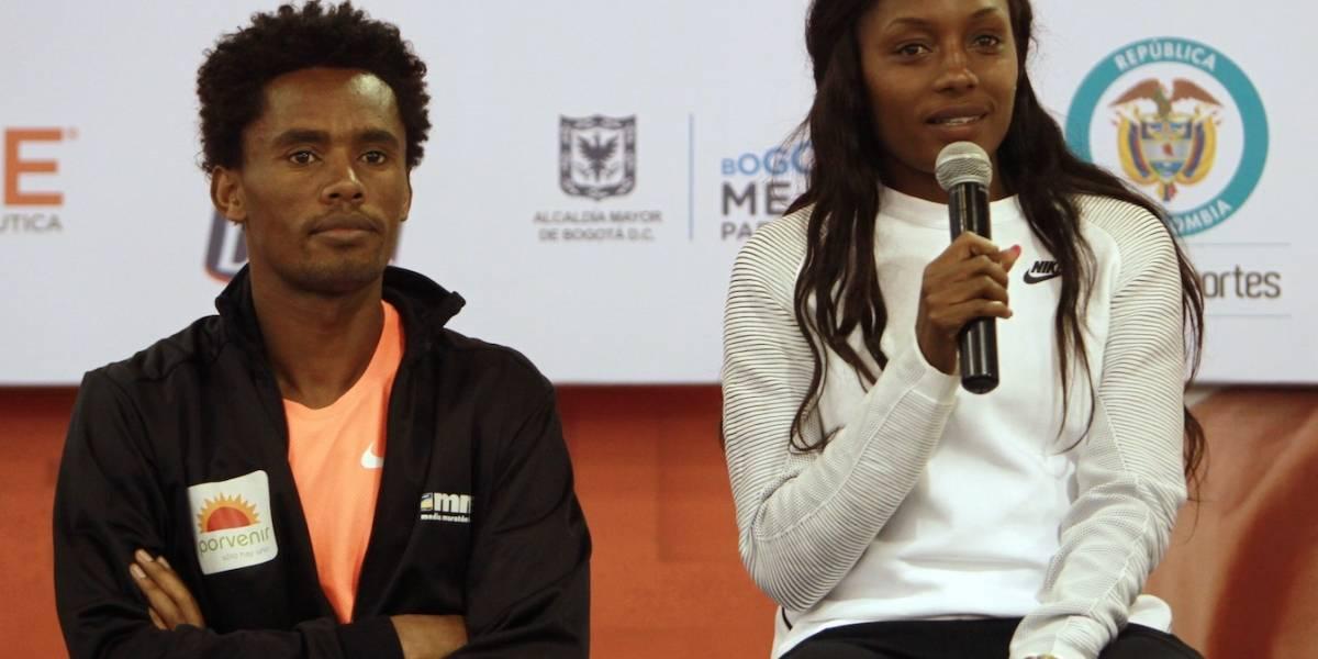 Subcampeón olímpico Feyisa Lilesa gana la Media Maratón de Bogotá
