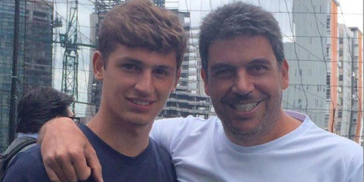 FOTO: Elias Ayub candidatea a su hijo con Florentino Pérez y el Real Madrid