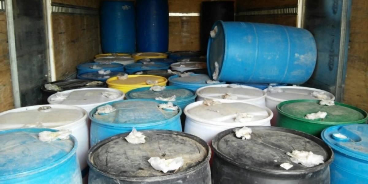 PGR asegura 117 mil litros de hidrocarburo en Puebla