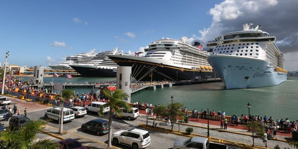 Registran aumento de 10.6% de pasajeros en cruceros