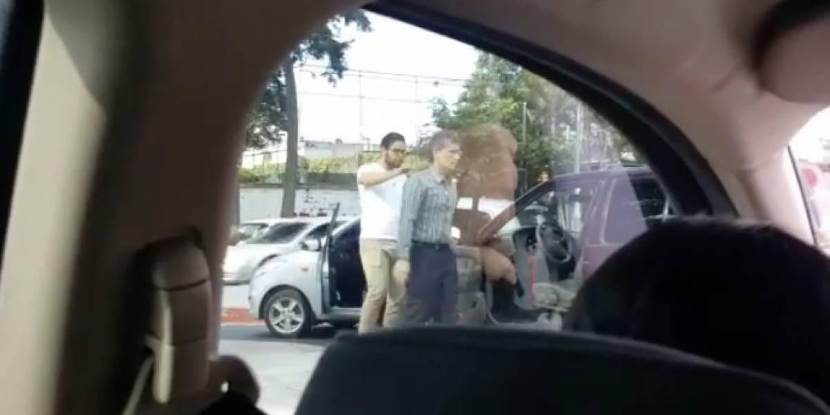 """Tras viralizarse video, """"señalado"""" explica el antes y después del accidente en USAC"""