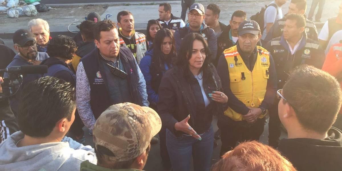 Autoridades de Iztapalapa impiden colocación de tianguis de Texcoco por irregularidades