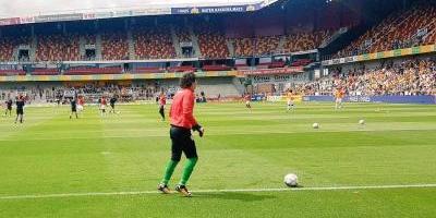 Guillermo Ochoa vive su primer empate en la liga de Bélgica