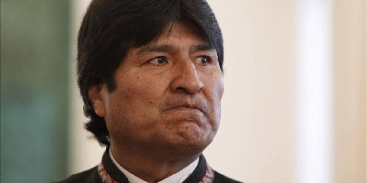 """Otra de Evo Morales: ahora acusa a Chile de """"mentir ante la ONU"""""""