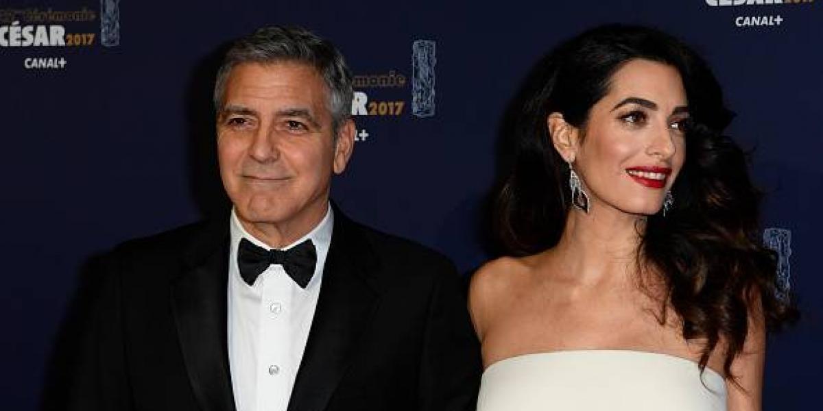 George Clooney explota contra revista que filtró las primeras fotos de sus gemelos