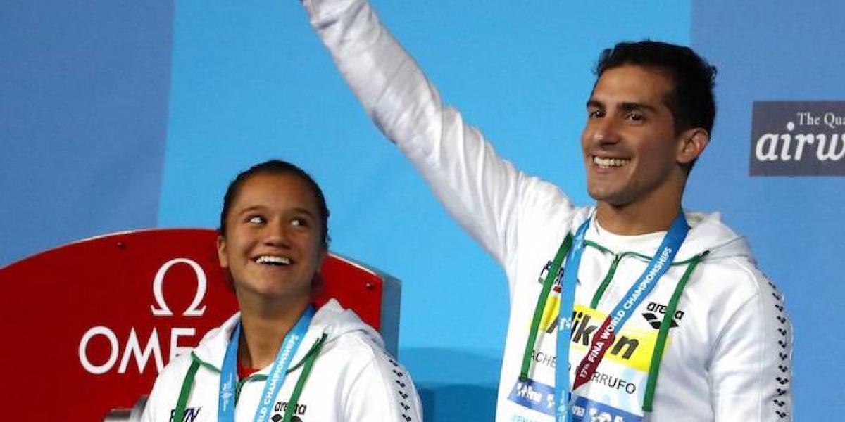 México finaliza en el lugar 20 del medallero del Mundial de Natación