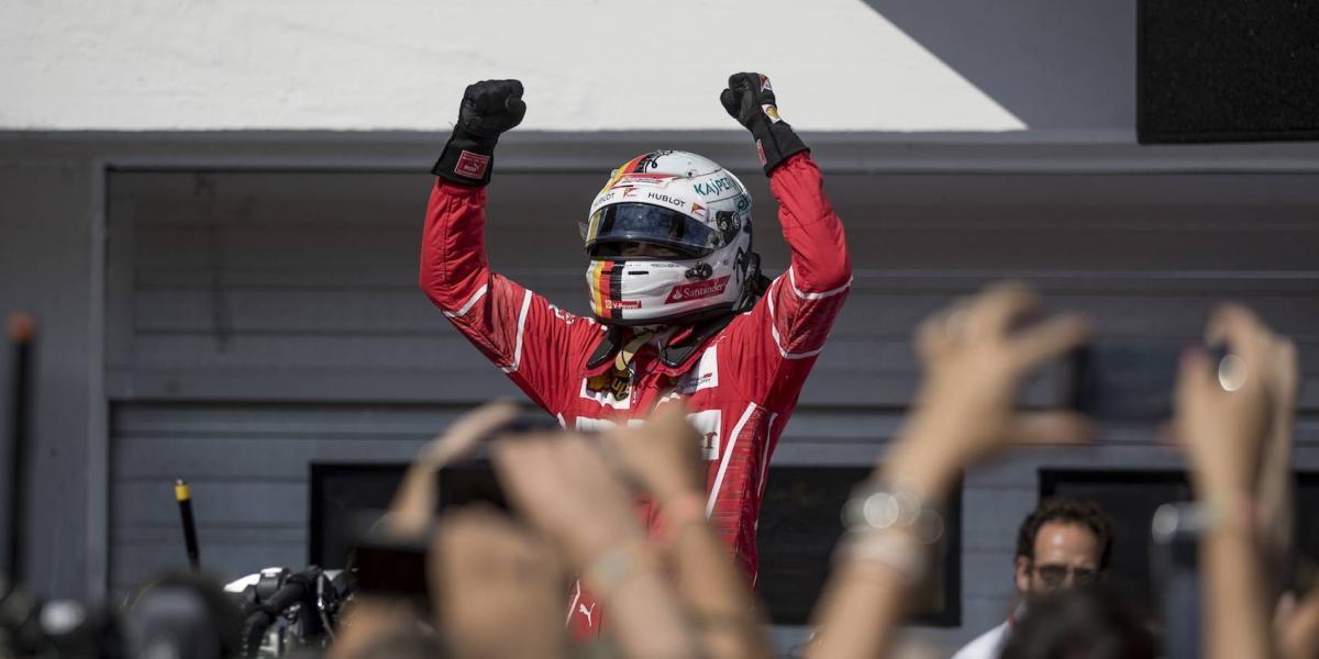 Vettel gana el GP de Hungría; 'Checo' suma puntos