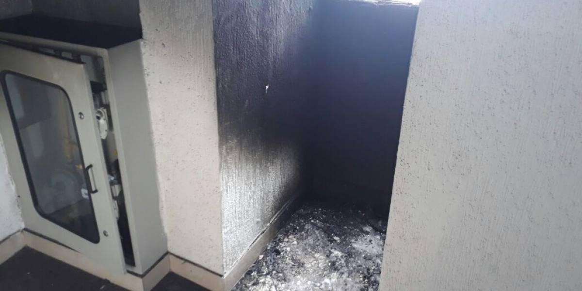 ¡Otra vez! La explosión en Suba se presentó por un incendio en el shut de basuras