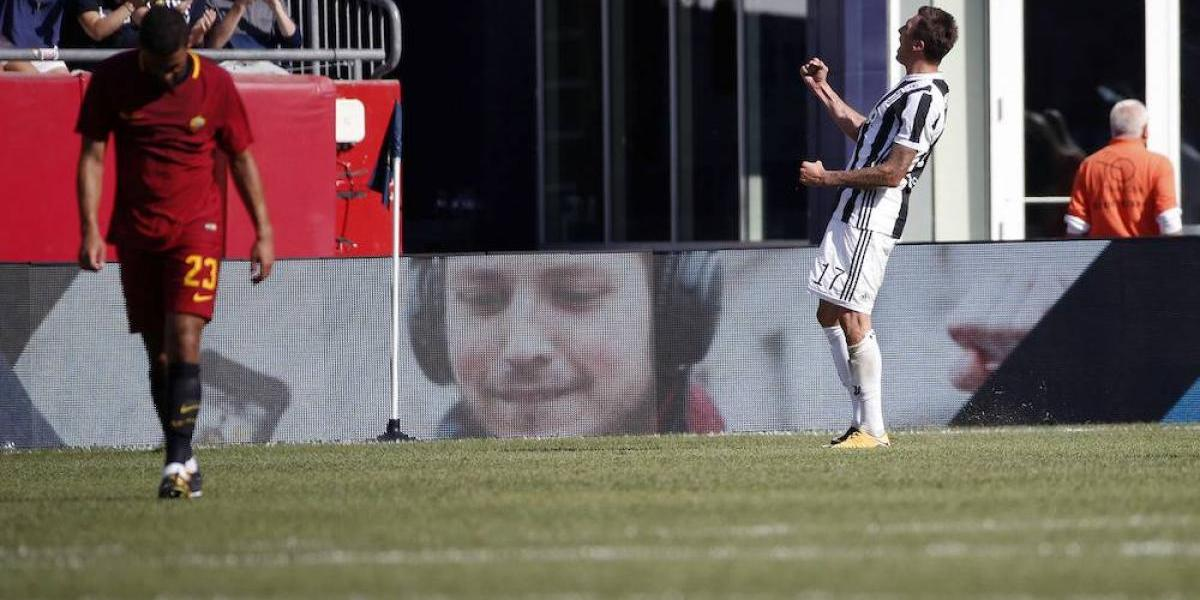 Con Héctor Moreno, la Roma cae en penales ante Juventus