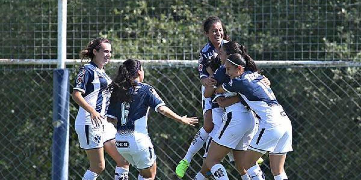 Monterrey cierra fecha uno de Liga MX Femenil con goleada sobre Necaxa