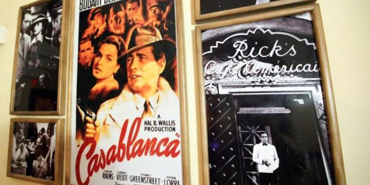 """Venden póster de cinta """"Casablanca"""" en 478.000 dólares"""