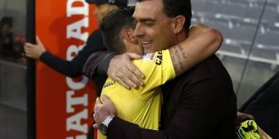 El emotivo regreso de Garcés / imagen: Photosport