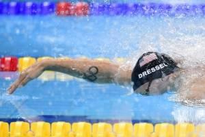 Nadadores explican sus tatuajes