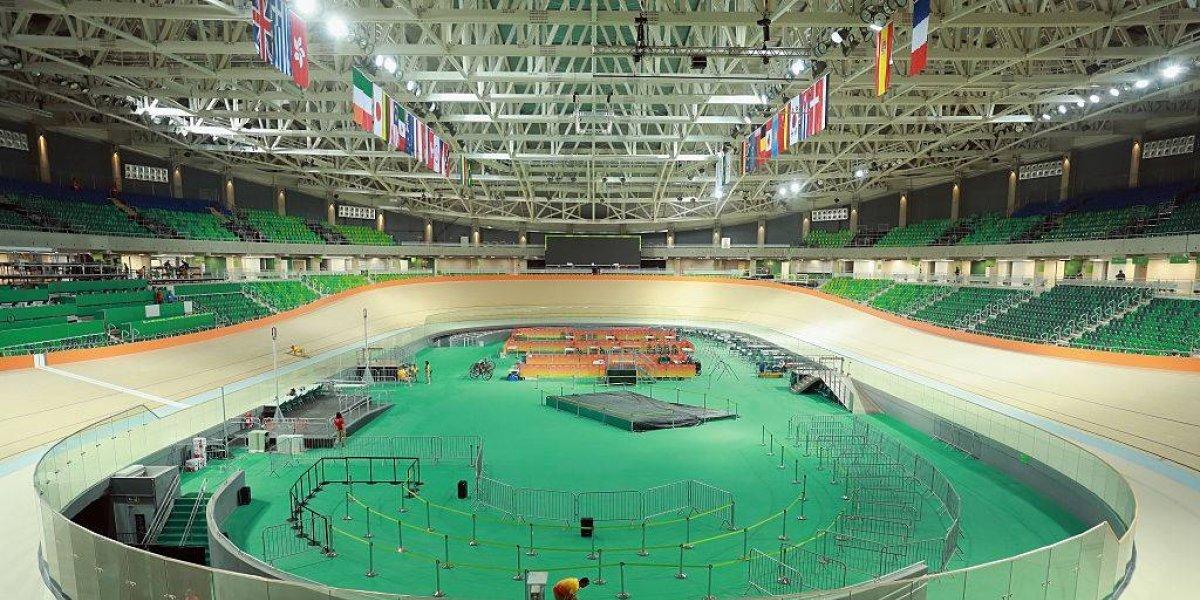 Velódromo do Parque Olímpico é atingido por incêndio pela segunda vez