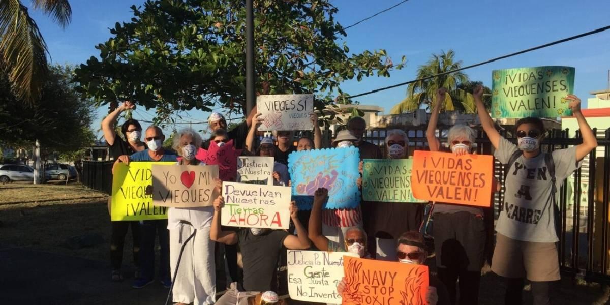 Realizarán protesta para que Marina EEUU detenga detonaciones en Vieques