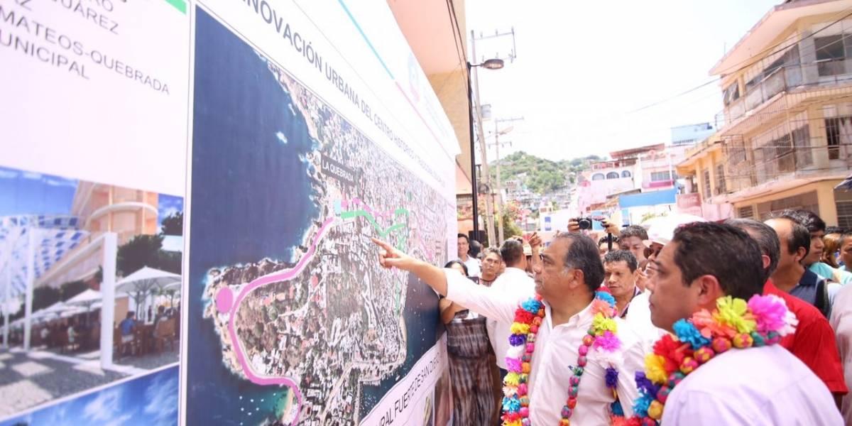 Se invirtieron100 mdp para el rescate de Acapulco Tradicional: Héctor Astudillo