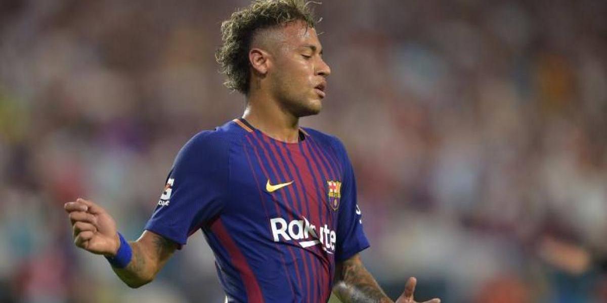 Neymar está en China y viajaría a Qatar en medio de los rumores de su traspaso al PSG