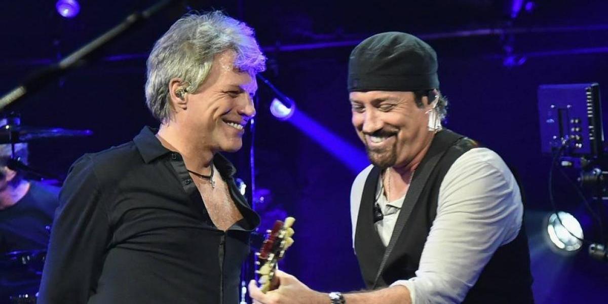 """Tico Torres, baterista de Bon Jovi: """"Estamos sonando increíble"""""""