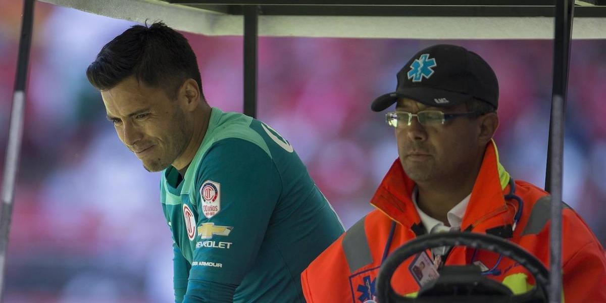 Talavera causa baja de Toluca por el resto del torneo