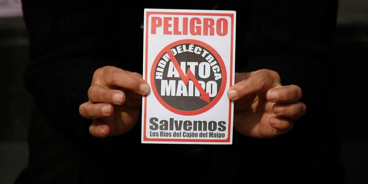 Proyecto Alto Maipo en jaque tras sorpresiva declaración de AES Gener