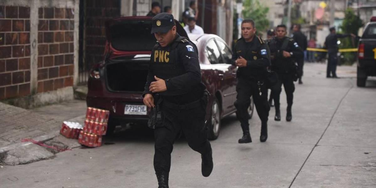Se registra ataque armado frente a juzgado de Chimaltenango