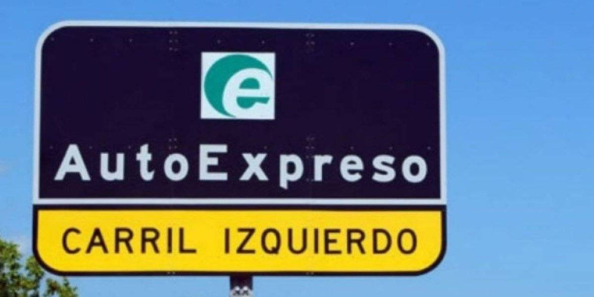 Suspenden recarga de AutoExpreso en carriles exclusivos en peajes