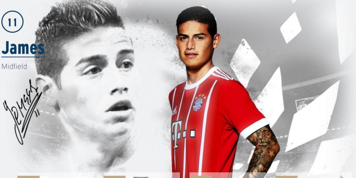Bayern ya le saca jugo económico a la llegada de James Rodríguez