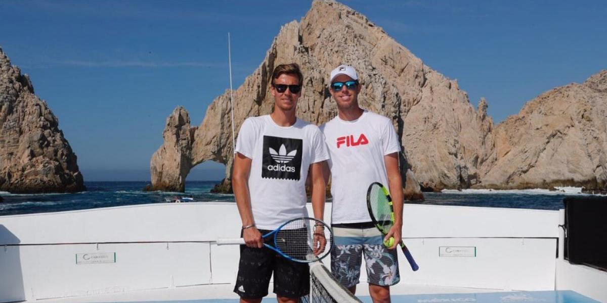 Berdych y Querrey, listos para el Abierto de los Cabos
