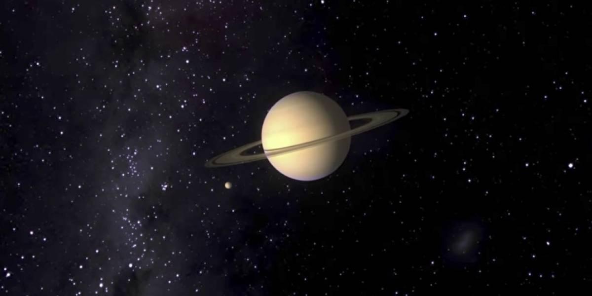 """Científicos de la NASA encuentran """"la molécula de la vida"""" en la luna más grande de Saturno"""