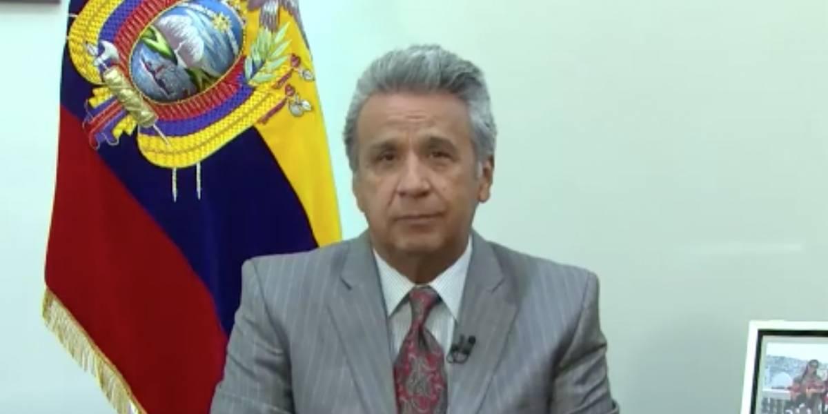 Moreno le retiró las funciones a Glas — Crisis en Ecuador