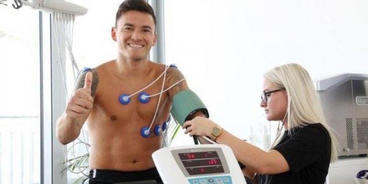 Charles Aránguiz se reintegró a las prácticas de Bayer Leverkusen