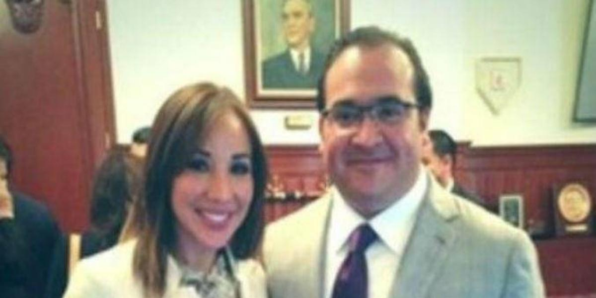 Detienen a presunta novia de Javier Duarte