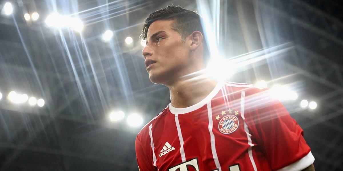 James quiere consolidar un matrimonio con la hinchada del Bayern Múnich