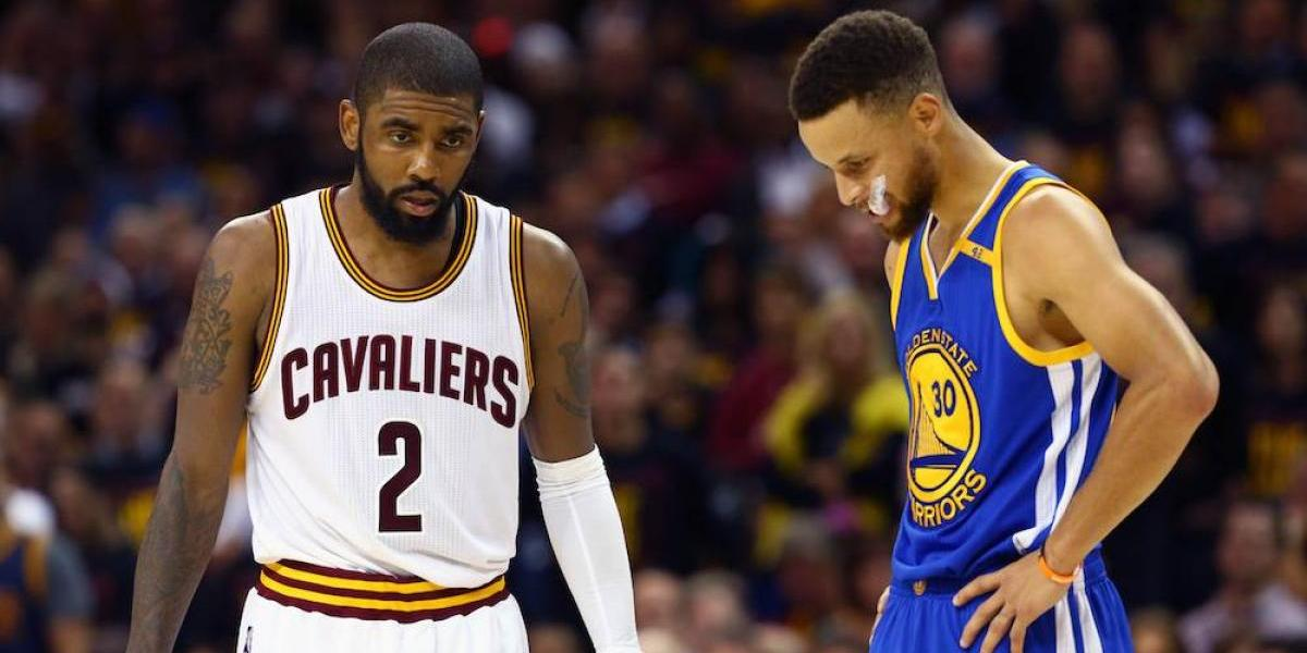 VIDEO: Stephen Curry y Kyrie Irving parecen burlarse de LeBron en video