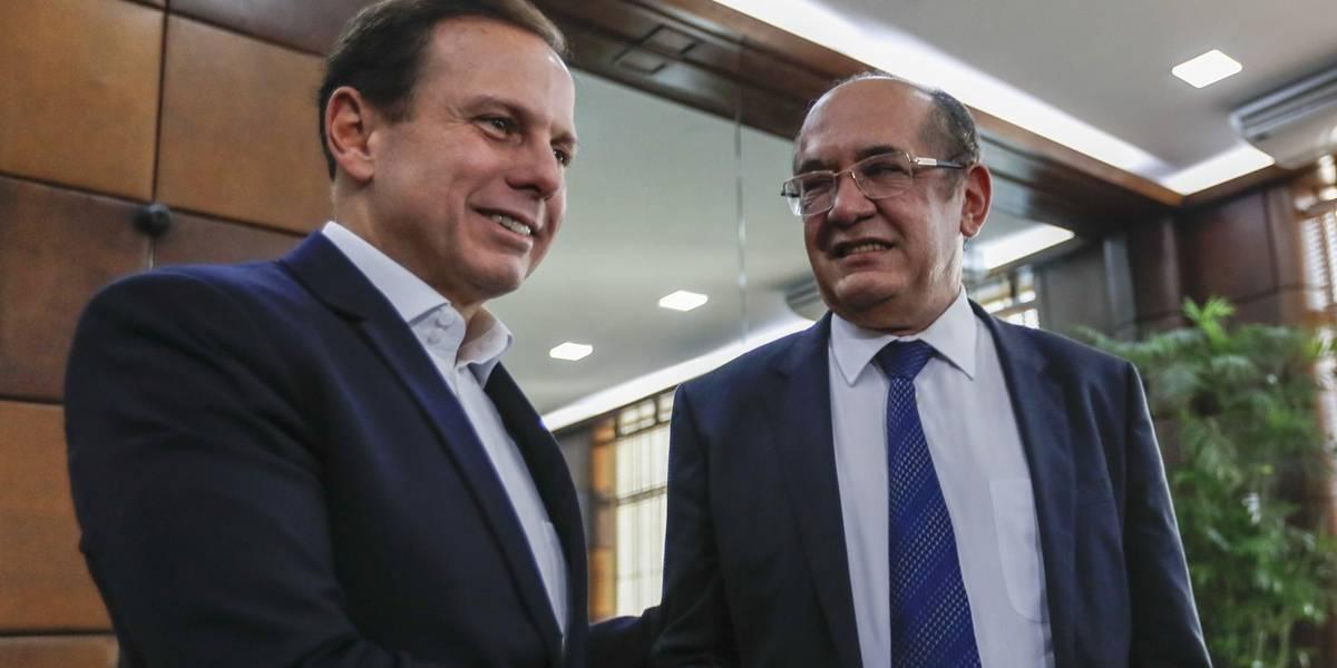 Doria se reúne com Gilmar Mendes em São Paulo | Metro Jornal