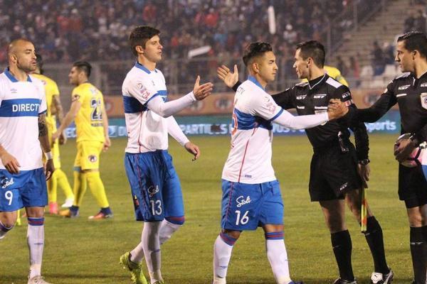 Benjamín Kuscevic fue titular en el 0-0 entre la UC y la U de Concepción en San Carlos de Apoquindo / cruzados.cl