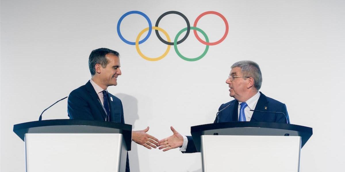 Los Ángeles llega a un acuerdo para albergar la fiesta deportiva más grande en 2028