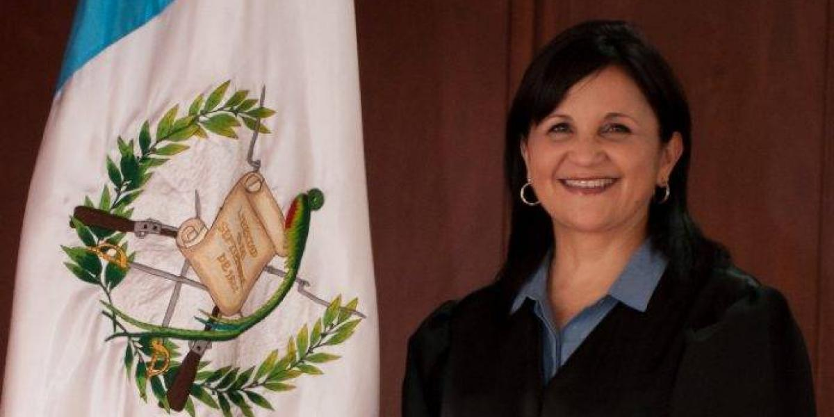 Magistrada de la CC Gloria Porras asegura ser víctima de amenazas