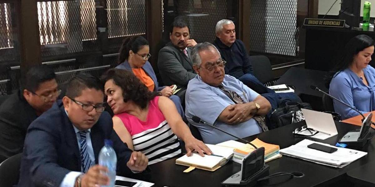 Con Pérez y Baldetti en Tribunales, se reanuda audiencia del caso La Línea
