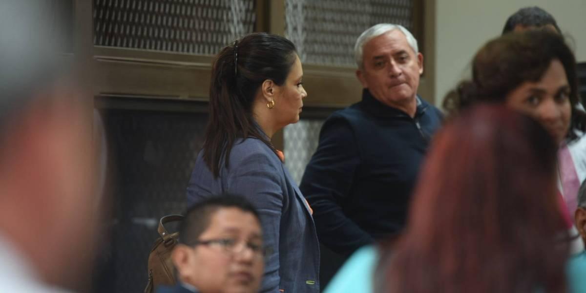 Defensa de Pérez Molina presenta acciones legales en el caso La Línea