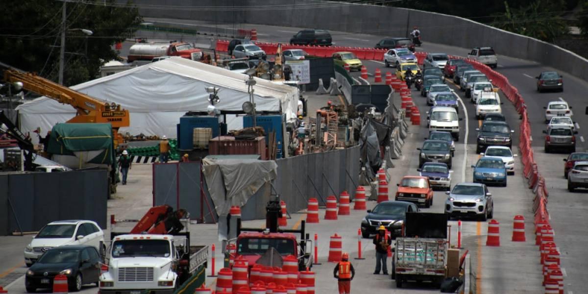 Vecinos denuncian colapso de muro en Paso Express; SCT lo niega