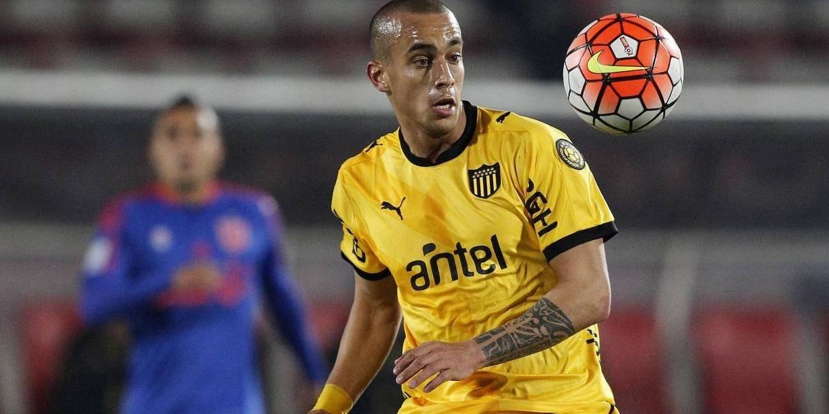 La U aceptó la extensión de préstamo de Peñarol por Guzmán Pereira