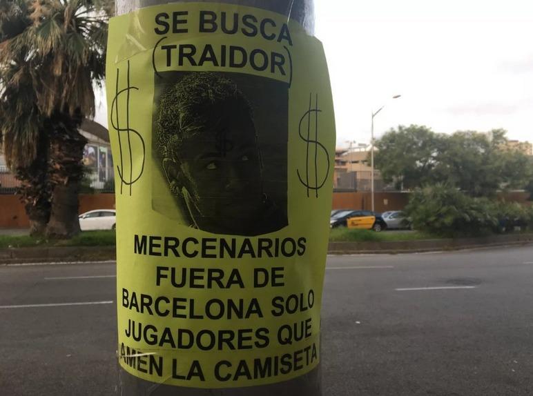 Cartel de Neymar